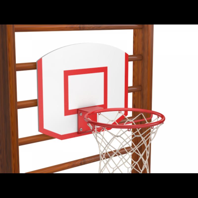 Баскетбольное кольцо с щитом
